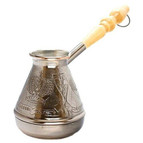 Фото - Станица, Турка медная для кофе Корона / Турка, Кофе 200 мл турка глиняная санкт петербург 200 мл