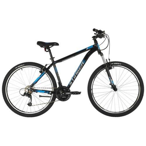 Горный (MTB) велосипед Stinger Element STD MS 27.5 (2021) черный 18 (требует финальной сборки)