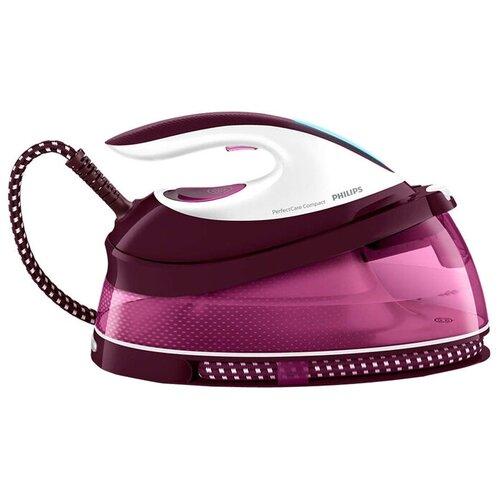 Фото - Парогенератор Philips GC7808/40 PerfectCare Compact розовый/белый парогенератор philips gc7808 40