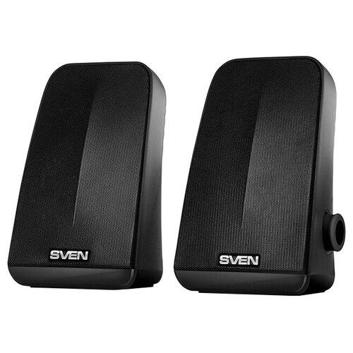Компьютерная акустика SVEN 380 черный портативная акустика sven ps 68 черный