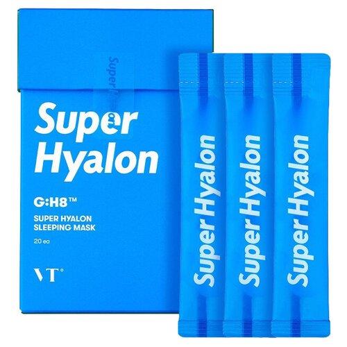 VT Ночная маска для глубокого увлажнения Super Hyalon Sleeping Mask, 4 мл, 20 шт.
