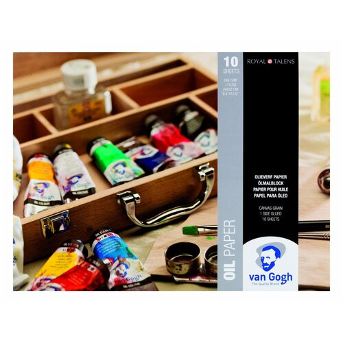 Фото - Альбом для масляных красок Royal Talens Van Gogh 32 х 24 см, 240 г/м², 10 л. альбом для акварели royal talens rembrandt 32 х 24 см 300 г м² 20 л