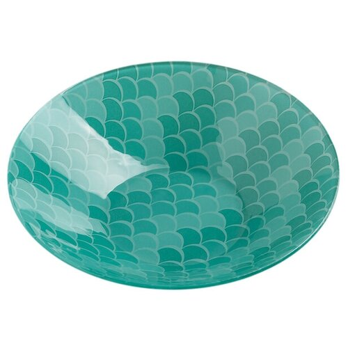 Фото - Доляна Салатник Сирена 22 см бирюзовый доляна салатник джавлон 12 см синий зеленый