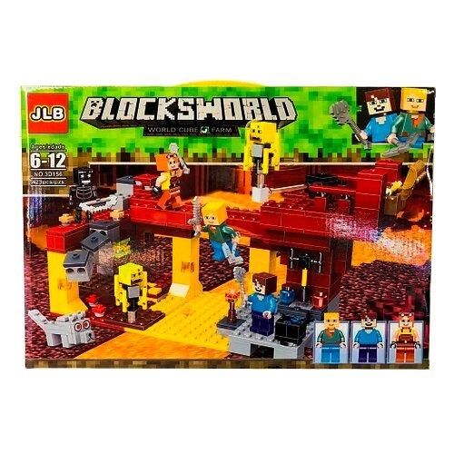 Купить Конструктор JLB Blocks World 3D156 Ифритовый мост, Конструкторы