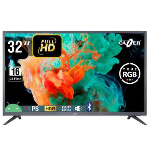 """Телевизор GAZER TV32-FS2G 32"""" графит"""
