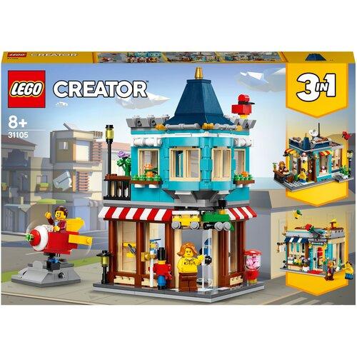 Фото - Конструктор LEGO Creator 31105 Городской магазин игрушек lego creator городской магазин игрушек 31105