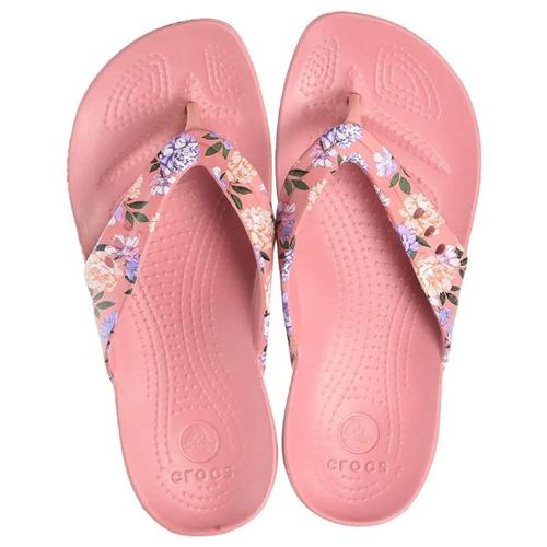 Шлепанцы Crocs, размер 36(W6), розовый шлепанцы crocs crocband flip размер 36 37 m4 w6 navy