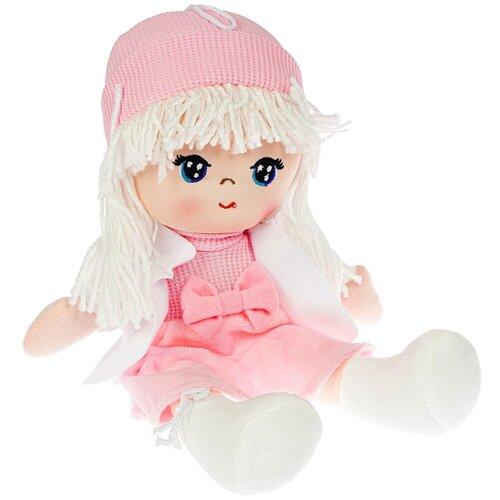 Фото - Мягкая кукла Bondibon Oly, 26 см, пакет, Лика-белые волосы (ВВ4996) мягкие игрушки bondibon кукла oly ника 26 см