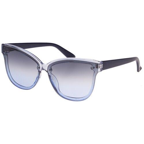 Солнцезащитные очки женские/Очки солнцезащитные женские/Солнечные очки женские/Очки солнечные женские/21kdglan1005355c4vr синий/Vittorio Richi/Кошачий глаз/модные