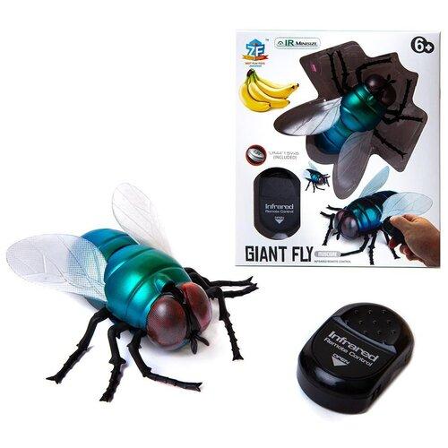 Купить Интерактивные насекомые и пресмыкающиеся. Муха р/у, световые эффекты, Джамбо Тойз, Роботы и трансформеры