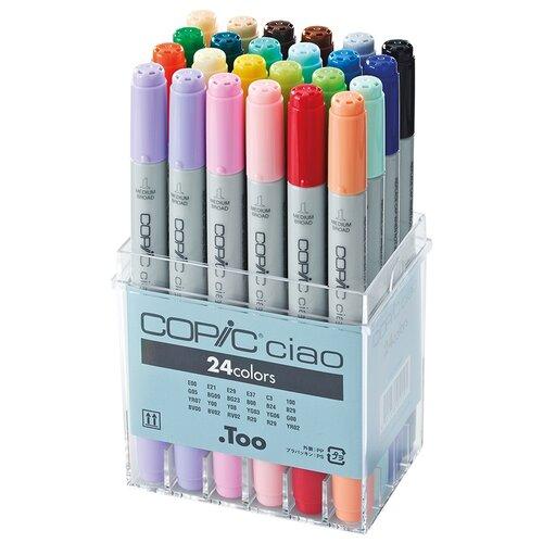 Купить COPIC набор маркеров Ciao, 24шт., 22075524, Фломастеры и маркеры
