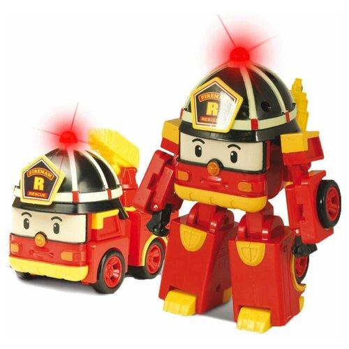 Купить Трансформер Silverlit Robocar Poli Рой 10 см красный, Роботы и трансформеры