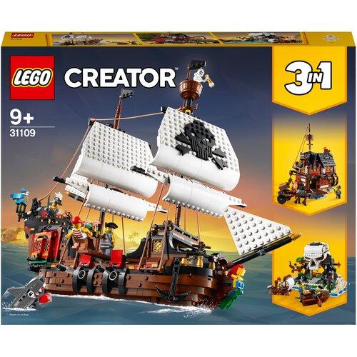 Фото - Конструктор LEGO Creator 31109 Пиратский корабль lego creator городской магазин игрушек 31105