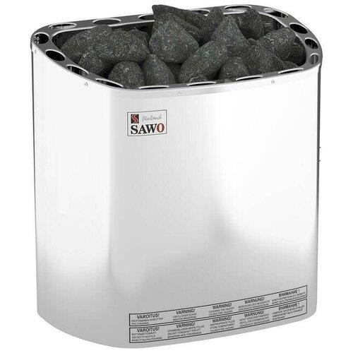 Электрическая банная печь Sawo SCANDIA SCA-90NS-Z серебристый