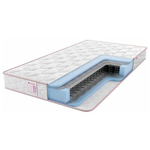 Матрас Sontelle Libre Base comfort, 190x140 см, пружинный, белый
