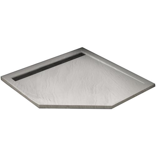 Душевой поддон WELTWASSER TRP STONE 100 x 100 белый notebook stone by stone a6 100 100