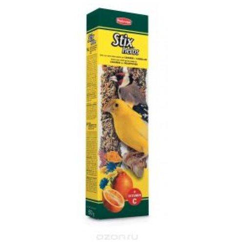 Падован 01272 палочки д/канареек и экзотических птиц антистрессовые с травами 60г*2шт (2 шт)