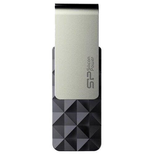 Фото - Флешка Silicon Power Blaze B30 8 GB, черный / серебристый флешка silicon power blaze b30 32 gb черный серебристый
