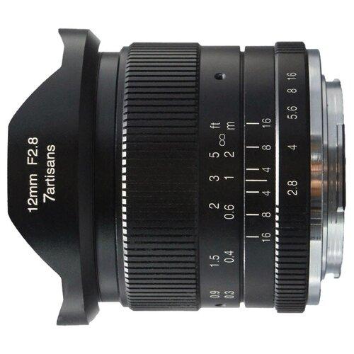 Фото - Объектив 7artisans 12mm f/2.8 Micro 4/3 объектив 7artisans 12mm f 2 8 canon m