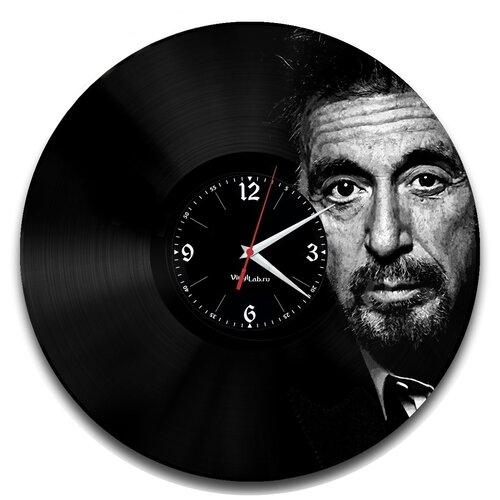 Часы из виниловой пластинки (c) VinylLab Аль Пачино