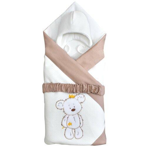 Фото - Комплект на выписку 6 предметов Alis Тедди, капитонье, поплин, молочный конверт на выписку золотой гусь венеция 6 предметов молочный