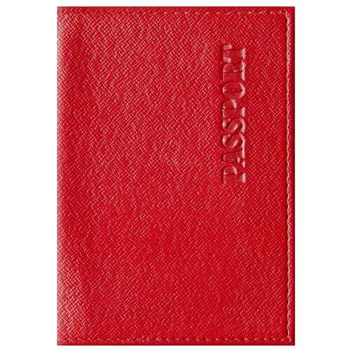 Обложка для паспорта OfficeSpace Бизнес, красный