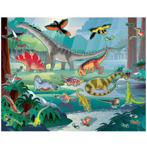 Купить Творчество Набор стикеров Доисторические Животные Melissa Doug 9341, Melissa & Doug, Наклейки