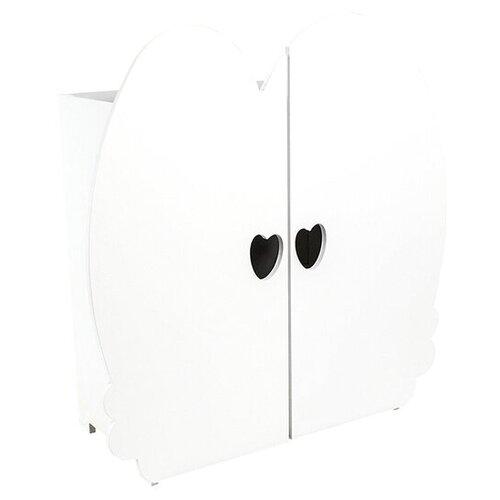 Купить PAREMO Шкаф для кукол (PFD120) белый, Мебель для кукол