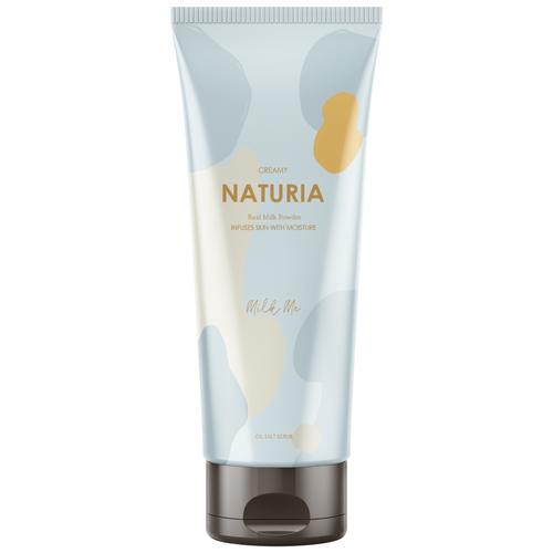 Naturia Скраб для тела Creamy Oil Salt Scrub Milk Me молочный, 250 г