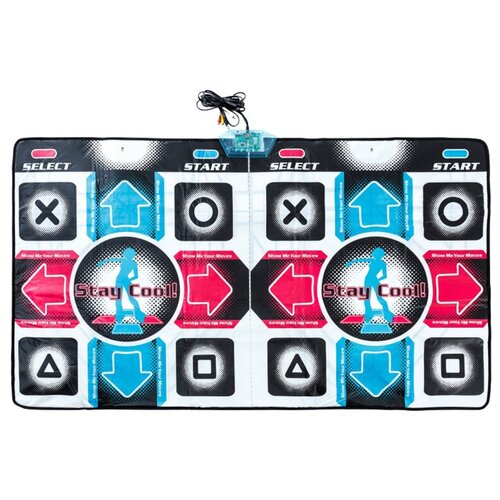 Купить Музыкальный коврик Aspel Dance Perfomance II ТВ/ПК (32 бита) для двоих, 010:K, Игровые коврики