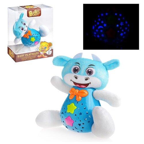 Купить Игрушка-проектор Oubaoloon Зверюшка, свет и звук, в коробке (59971), Развивающие игрушки