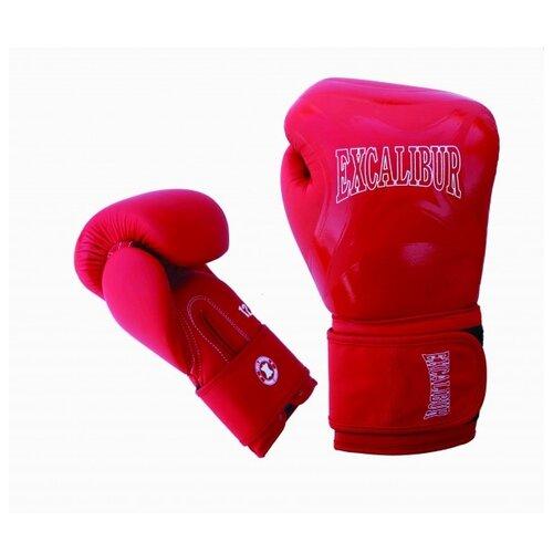 Перчатки боксерские Excalibur 8046/02 Red/White PU 16 унций