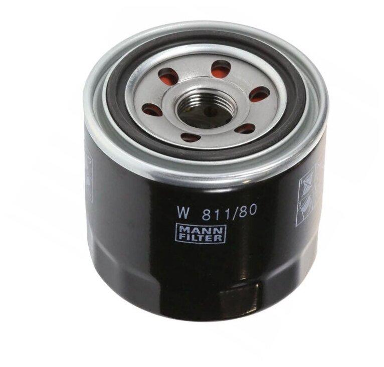Купить Масляный фильтр MANN-FILTER W 811/80 по низкой цене с доставкой из Яндекс.Маркета
