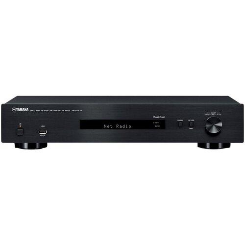 Сетевой аудиоплеер YAMAHA NP-S303, черный