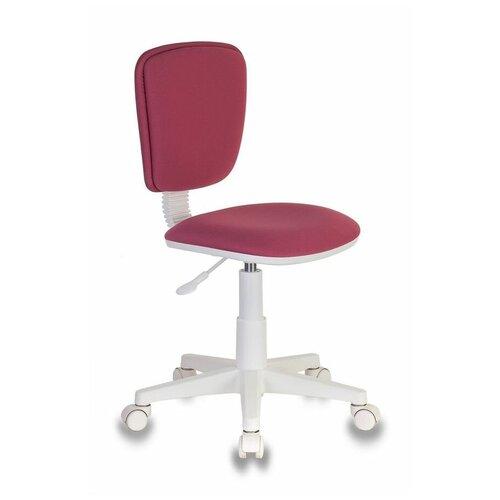 Компьютерное кресло Бюрократ CH-W204NX детское, обивка: текстиль, цвет: розовый 26-31 компьютерное кресло бюрократ ch 204nx детское детское обивка текстиль цвет синий карандаши