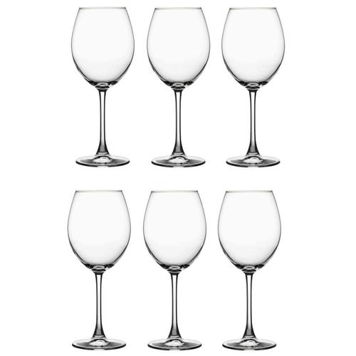 Pasabahce Набор бокалов для вина Enoteca 6 шт., 440 мл прозрачный pasabahce набор бокалов tulipe 200 мл 6 шт прозрачный