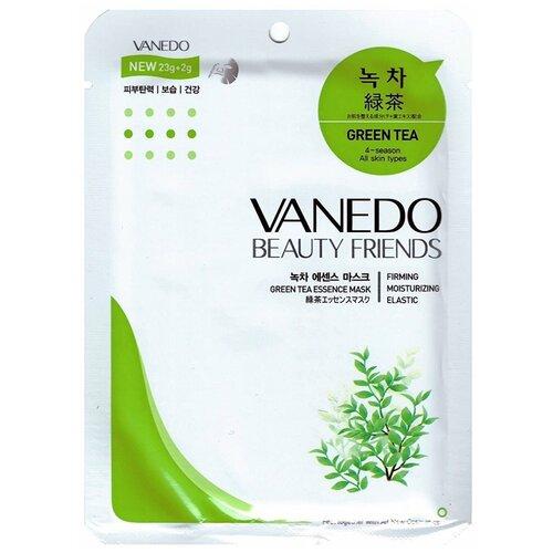 Vanedo Green Tea Essence Mask Sheet Pack Маска для лица с зеленым чаем, 25 г недорого
