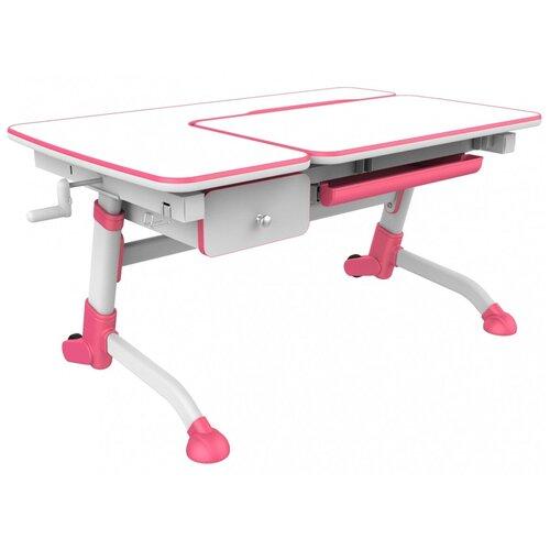 аксессуары для мебели fundesk ящик amare drawer Стол детский FUNDESK стол + ящик Amare 119x73 см белый/розовый