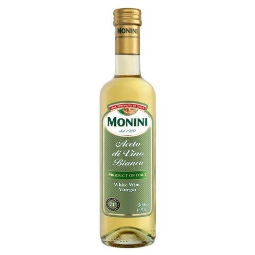 Фото - Уксус Monini винный белый 7,1%, 500 мл уксус chatel винный с ароматом малины 6% 500 мл