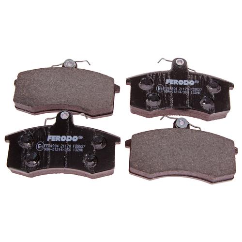Дисковые тормозные колодки передние Ferodo FDB527 для ЗАЗ, Nissan, LADA (ВАЗ) (4 шт.)