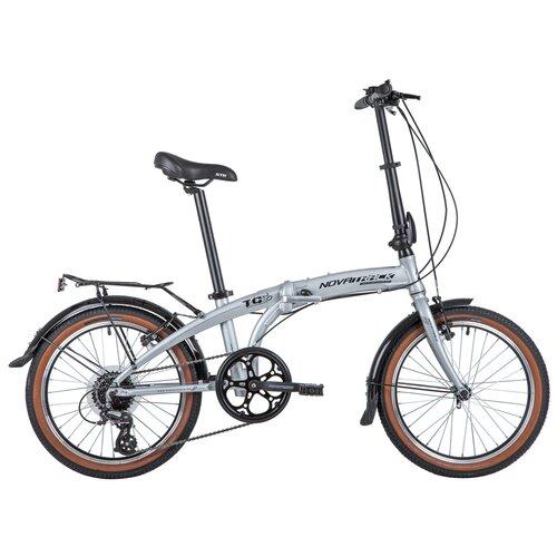 Фото - Подростковый городской велосипед Novatrack TG-20 8 (2020) серебряный (требует финальной сборки) велосипед haibike affair 8 70 2016