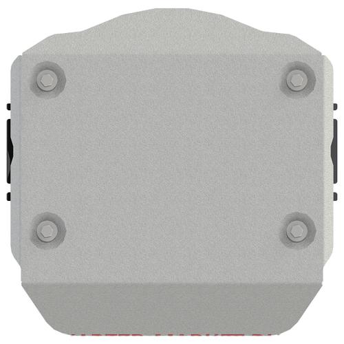 Защита ЭБУ муфты полного привода Sheriff на Ауди А7 2018-2020, модель №3, алюминиевый сплав 4мм, арт:02.4082-2