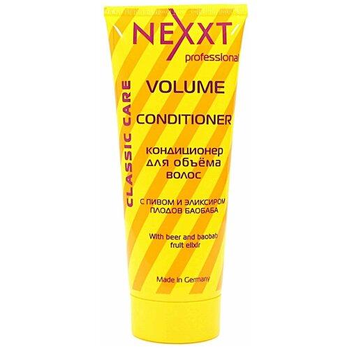 Фото - Nexprof кондиционер Classic care Volume для объема волос, 200 мл nexprof кондиционер classic care volume для объема волос 200 мл