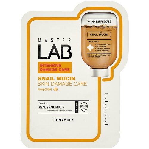TONY MOLY тканевая маска Master Lab Snail Mucin, 19 г tony moly tony lab