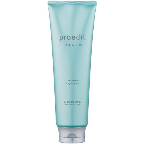 Lebel Cosmetics Маска интенсивно увлажняющая для очень сухих волос Proedit Hair Treatment Soft Fit Plus, 250 мл