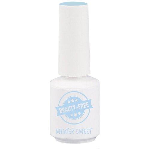 Фото - Гель-лак для ногтей Beauty-Free Winter Sweet, 8 мл, светло-голубой гель лак для ногтей beauty free winter sweet 4 мл оттенок пурпурно розовый