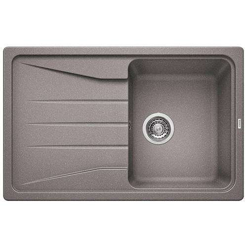 Врезная кухонная мойка 78 см Blanco Sona 45S алюметаллик кухонная мойка blanco rondoval 45s алюметаллик 515763
