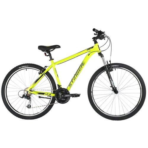 Горный (MTB) велосипед Stinger Element STD MS 27.5 (2021) зеленый 20 (требует финальной сборки)