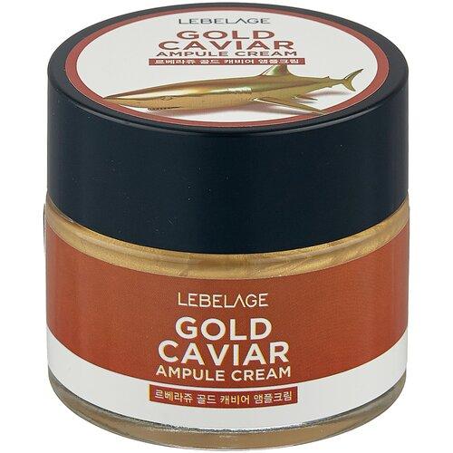 Купить Lebelage Ampule Cream Gold Caviar Ампульный крем для лица с экстрактом икры, 70 мл
