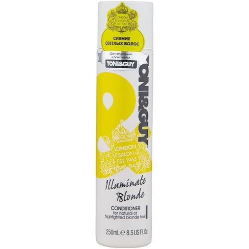 Купить Toni & Guy кондиционер для светлых волос Illuminate Blonde, 250 мл